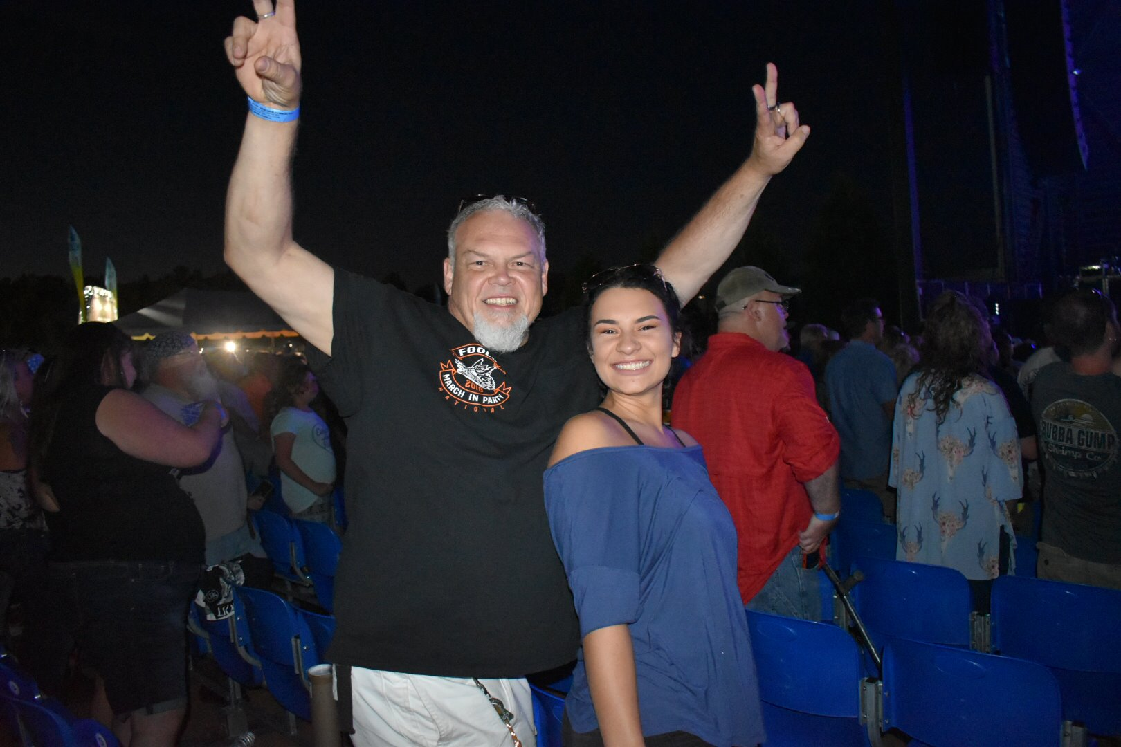 Audience Members 3 - Foreigner