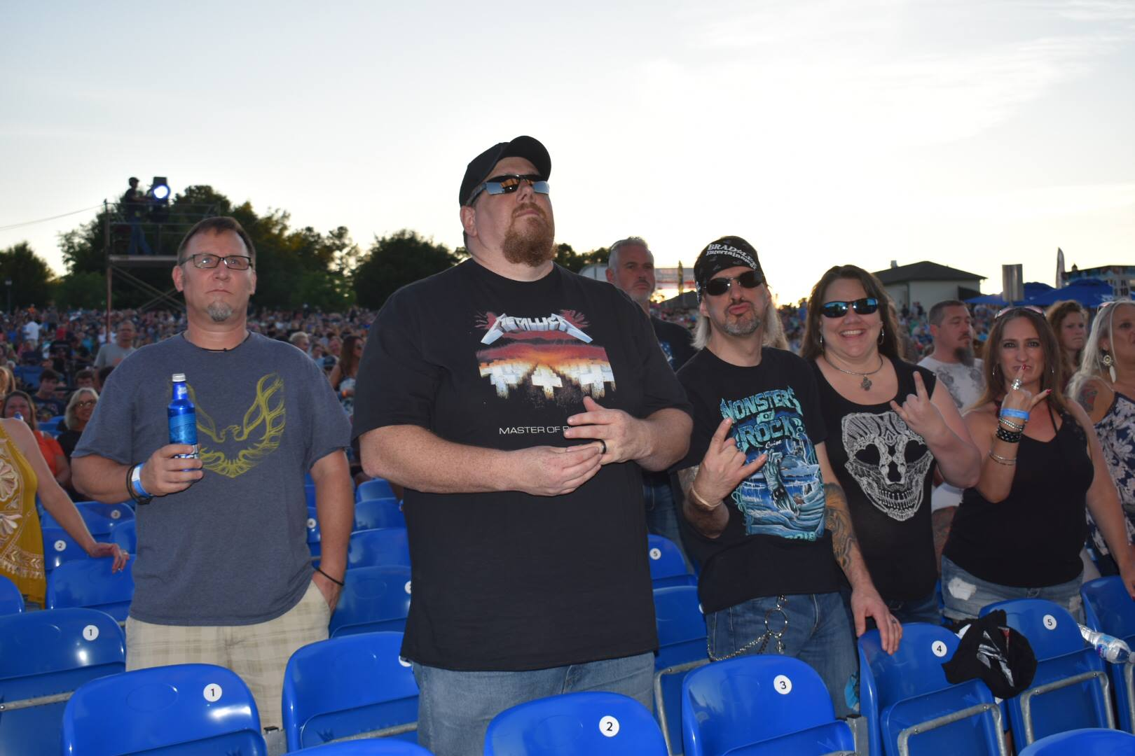 Audience Members - Foreigner
